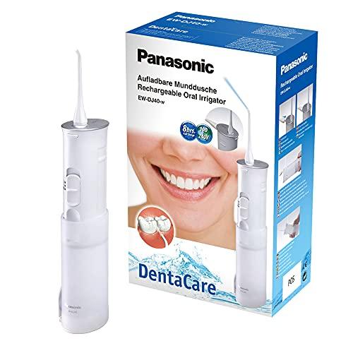 Panasonic EW-DJ40 Irrigateur dentaire compact rechargeable avec 2 modes de jet d'eau, prise britannique à 2 broches