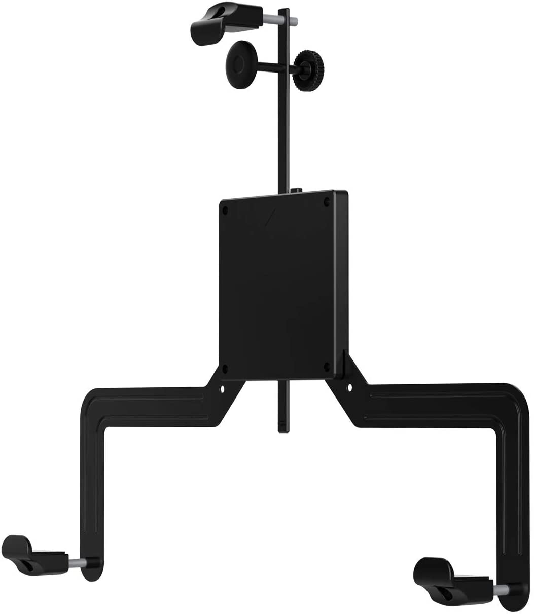 Universal VESA Mount Adapter Kit Convert with Support Rod, Multi-Assemble Type Bracket for Non VESA Monitor Arm Mounting Screens, Fit 17-27 Inch Screen VESA 100x100, Fast and Quick Installation