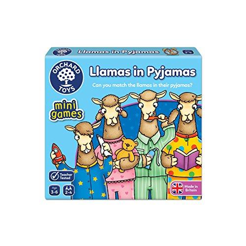 Orchard Toys Lamas in Schlafanzug Reise Spiel