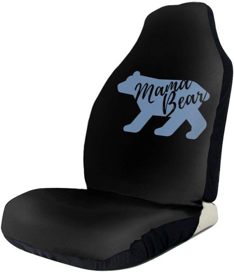 POI78 Momma Bear Colorful Fashion Max 52% OFF Bargain sale Full Pattern Covers Seat Auto