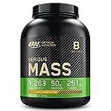 Optimum Nutrition Serious Mass Proteina en Polvo, Mass Gainer Alto en Proteína, con Vitam...