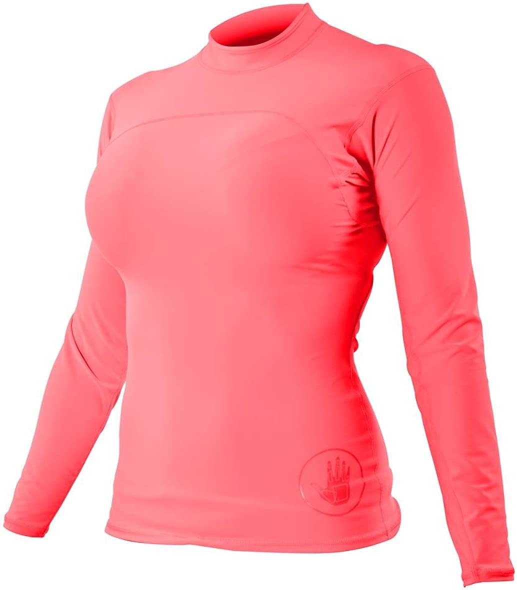 Body Glove Wetsuit Co Womens Smoothies Fitted Long Arm Rashguard