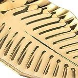 Vassoio per gioielli, vassoio portaoggetti Selezione regalo Abbellisci l'aspetto della foglia di vita per bigiotteria per bar