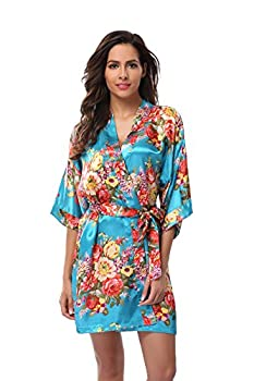 Best patterned silk robes Reviews