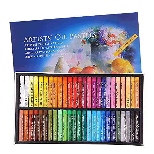 Oil Pastels Set for Art, Professional Soft Oil Pastel Pencil for Kids, Artist, Student No Toxic Washable Round Crayons Pastels for Graffiti Art