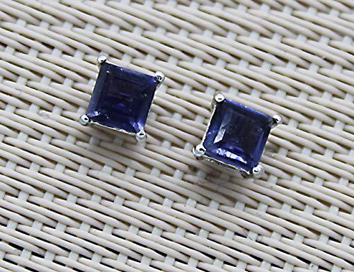 Beaucoup pour la confection de bijoux Neerupam Collection Bleu Couleur Naturel iolite 7/x 5/mm Pierre pr/écieuse de forme ovale /à facettes 2/pcs
