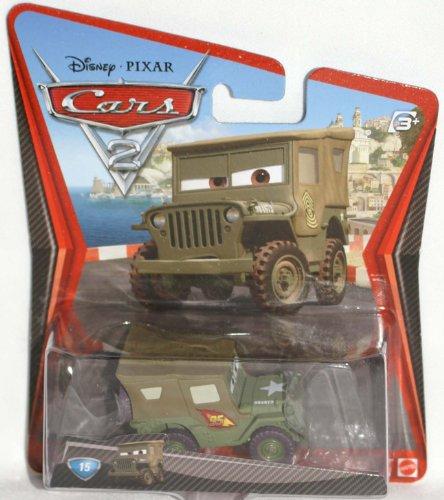 Disney Cars 2 Voiture Race Team Sarge