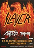 Slayer - Repentless, Bochum 2015 » Konzertplakat/Premium