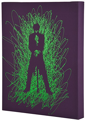 Edge Home Products Joker Silhouette Paint Splatter Canvas 16 by 20 2 Inch Depth Size