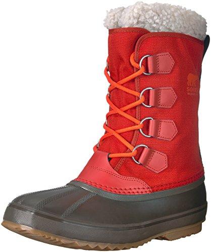 Sorel Herren 1964 Pac Nylon Boots, rot (rust red)/braun (cordovan), Größe: 42