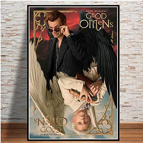 sanzangtang TV-Serie Leinwand Bild Poster und Wandbild liv-Rahmenlose Malerei30X45cm