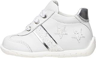 Nero Giardini E018070F Sneakers Baby pour Fille en Cuir Et Toile