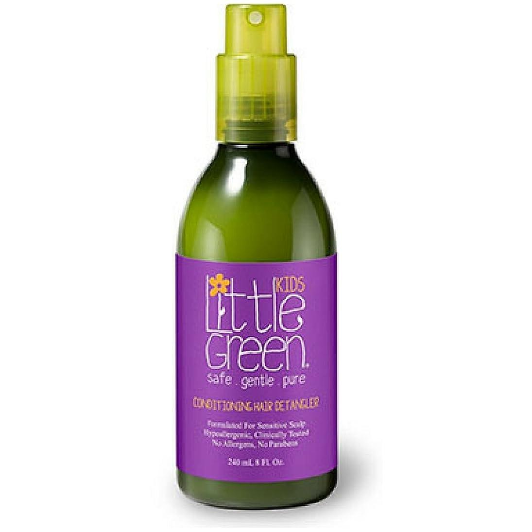 祈り以前は誤Little Green キッズコンディショニングDetangler - 子供Detanglerスプレー - 安全かつ非毒性 - 低刺激性 - - パラベンやグルテンフリー - ウェットまたはドライの髪に使用し臨床的に子供のためのテスト済み - 髪を保護 8フロリダ。オンス