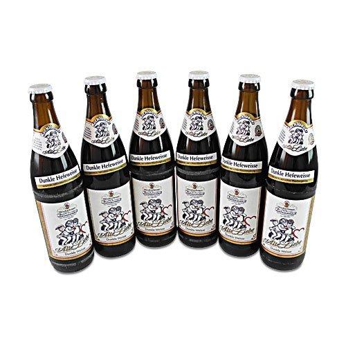 Kuchlbauer Alte Liebe (dunkles Weißbier / 6 Flaschen à 0,5 l / 5,2% vol.)