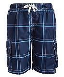 Kanu Surf Men's Echelon Swim Trunks (Regular & Extended Sizes),...