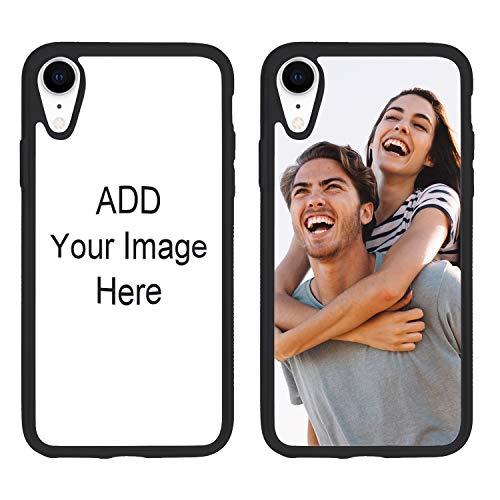 Handyhülle Mit Eigenem Foto Handy Schutzhülle Benutzerdefinierte Handyhülle Stoßfest Handyschutz Hülle Smartphone Abdeckung Kratzschutz Backcover für iPhone7/7 plus/8/8 plus/XR/XS MAX/X