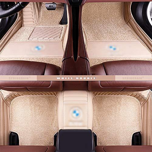 Rzj-njw Customcar tapetes para BMW E90 E46 G30 F10 F11 F30 F45 X3 E83 X1 X3 X5 F25 F15 E30 E34 E60 E65 E70 Todos los Modelos de Coches Mats,C