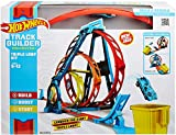 Hot Wheels Track Building Pista Triple Looping, pista de coches de juguete (Mattel GLC96) , color/modelo surtido