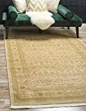 Unique Loom Edinburgh Collection Oriental Traditional French Country Cream Area Rug (12' 2 x 16' 0)