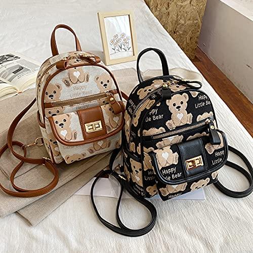 Rucksack Fashion Street Trend Nette Reise Damen Rucksack Temperament Mädchen Shopping Umhängetasche Schultasche