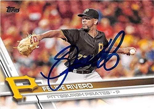Autograph Be super welcome Super-cheap Warehouse 619365 Felipe Rivero Baseball Ca Autographed