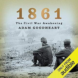 1861: The Civil War Awakening audiobook cover art