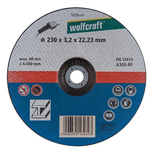 Wolfcraft 1626099 Disque tronçonneuse Diamètre 230 x 3,2 x 22/23 mm