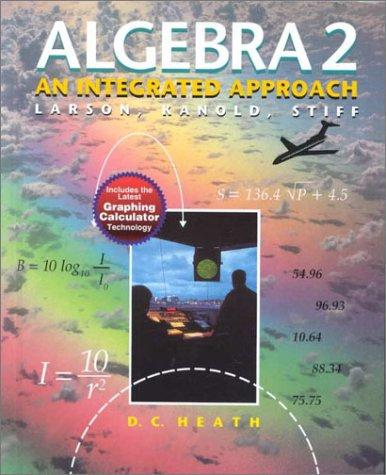 Algebra 2: An Integrated Approach