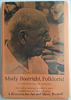 Hardcover Mody Boatright Folk Artist: A Collection of Essays Book