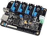 DIANLU26 Scheda del controller integrata Mainboard con unità di controllo base a 32 bit CoretX-M4 + touch screen LCD da 3,5 pollici + 4PCS A4988 Driver motore passo-passo per reprap 3D Moduli del driv