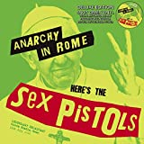 SEX PISTOLS - ANARCHY IN ROME: DELUXE EDITION ON SNOT GREEN VINYL WITH TURNTABLE MAT