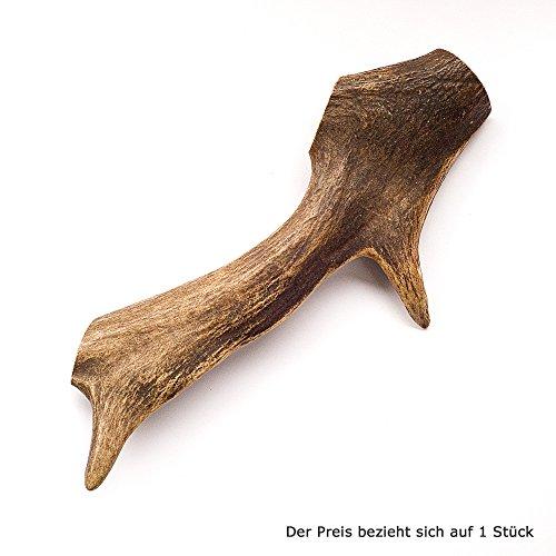 Geweih für Hunde - ganze Stange - 1 Stück der Größe 180 - 250 Gramm | Hundesnack Geweih | Geweihstange | Rothirsch | Hirschhorn Hund | Zahnpflege Hund | Abwurfstangen Geweih | natürlicher Kauknochen für Hunde