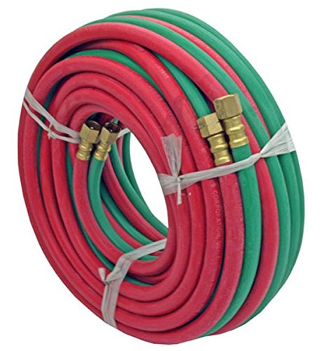 Valley Oxy/acet,hose, Grade R, Twin Welding 1/4-inch By 50-feet