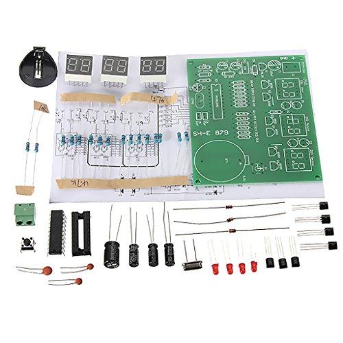 perfk Elektronische Uhr Kit Board Temperatur Datumsanzeige Uhr Kits Set
