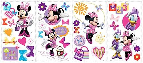 Disney Mickey & Friends Minnie Bow-tique Wall Decal Cutouts 18 x40
