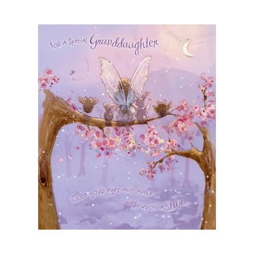 Fairy Granddaughter Birthday Card