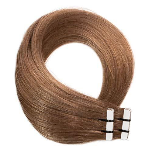 Just Beautiful Hair 20 x 2.5 g Extensions bande adhésives #14 blond foncé 60cm