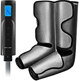 Foot and Calf Massager Gifts, Compression Air Leg Massager for Circulation and Relaxation, Christmas Massage Gifts for Men/Women/Mom/Dad, Helpful for Muscle Fatigue