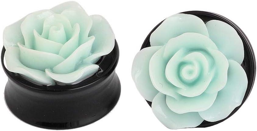 HBJSDGV Ear Award Expander 10Pcs Acrylic Single Screw Ea Regular discount Flower Flared