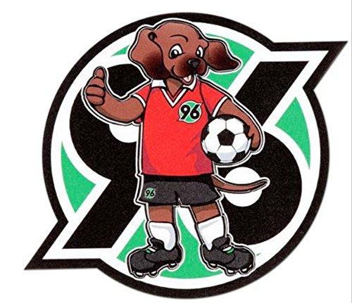 Aufkleber Magic EDDI Hannover 96, H96, Sticker, Autoaufkleber, Gesichtsaufkleber, etiqueta engomada, autocollant