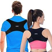 Geradehalter zur Haltungskorrektur Rückenstütze Rückentrainer Schultergurt Haltungstrainer Posture Corrector für Nacken Rücken Schulterschmerzen für Herren und Damen