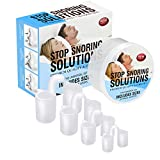 Anti Snoring Nose Vents - Set of 4 Nasal Dilator to Ease Breathing - Advanced Design - Reusable - No Side Effects