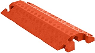 Linebacker CP1X225-GP-DO-O Polyurethane Heavy-Duty General-Purpose 1-Channel Drop-Over Cable Protector with 2.25