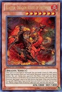 Yugioh Yu-Gi-Oh! - Blaster, Dragon Ruler of Infernos (CT10-EN002) - 2013 Collectors