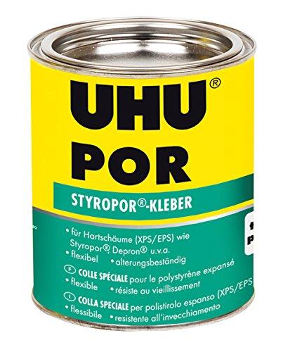 UHU 45935 Spezialkleber, Por für Hartschäume, Dose mit 570 g