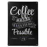 20x30cm Jahrgang Metall Blechschild Plaque Wandkunstplakat Café Bar Pub Kaffee # 2