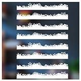 Stickers4 Fluffy Snow Variation Parent, 8m Flockiger Schnee Bordüre