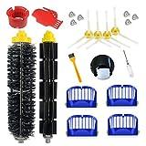 Supon Roomba accesorio cepillos de repuesto para Roomba serie 600 accesorios de repuesto, filtros, cepillo de cerdas para robot aspirador (600-e01)
