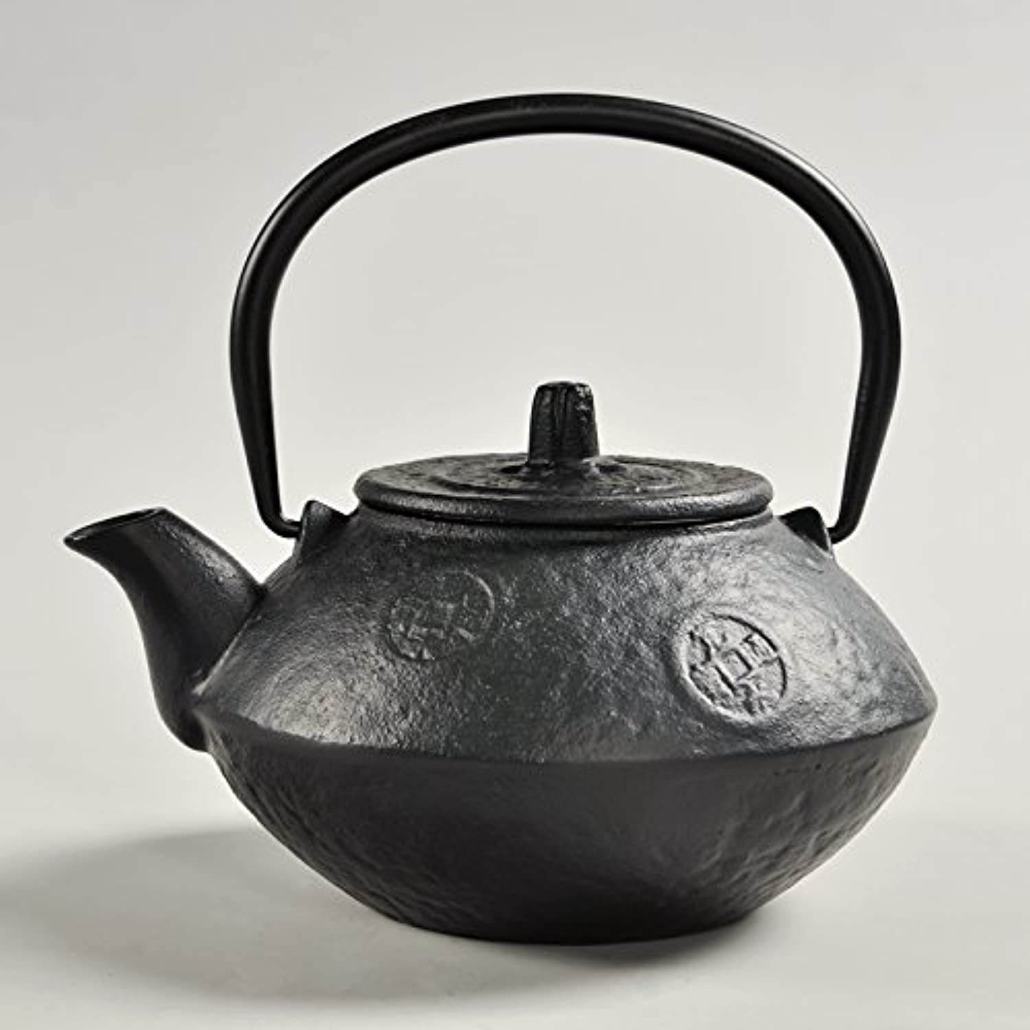 CLGFLY Handmade antique King size uncoated color Japanesestyle tea old iron pot cast iron teapot kettle,2