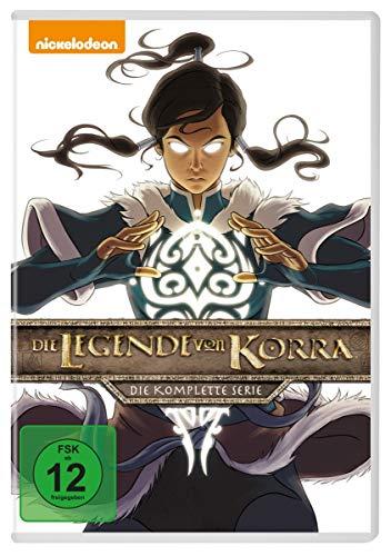 Die Legende von Korra - Komplettbox [8 DVDs]